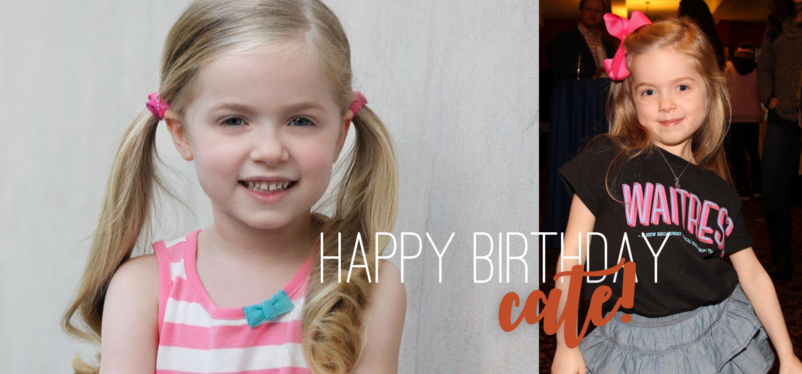 Cate Elefante's Birthday