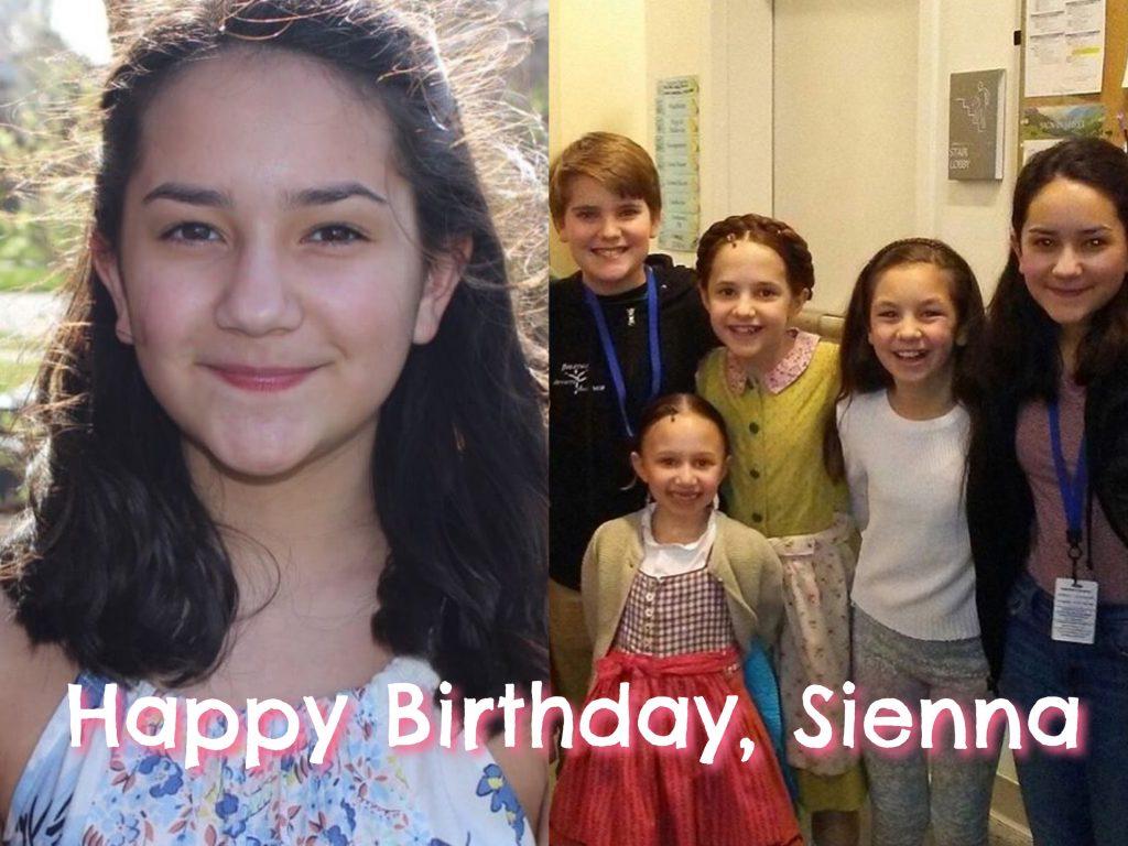 Sienna Laura Ann Berkseth Birthday