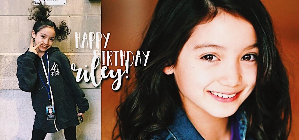 Riley O Donnell's Birthday