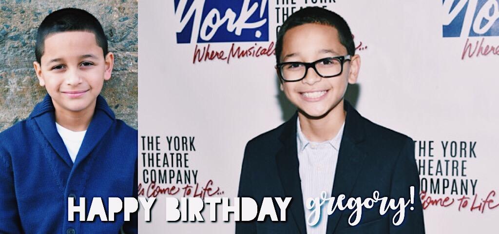 Gregory Diaz Birthday
