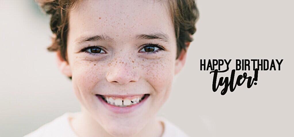 Tyler Patrick Hennessy Birthday