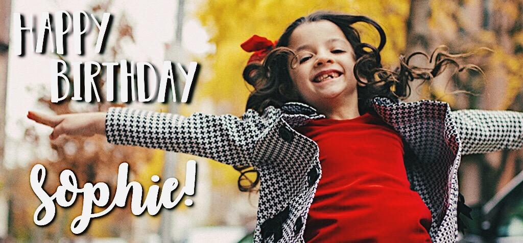 Sophie Knapp Birthday