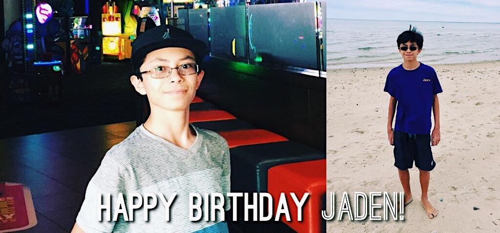 Jaden Amistad's Birthday 2017